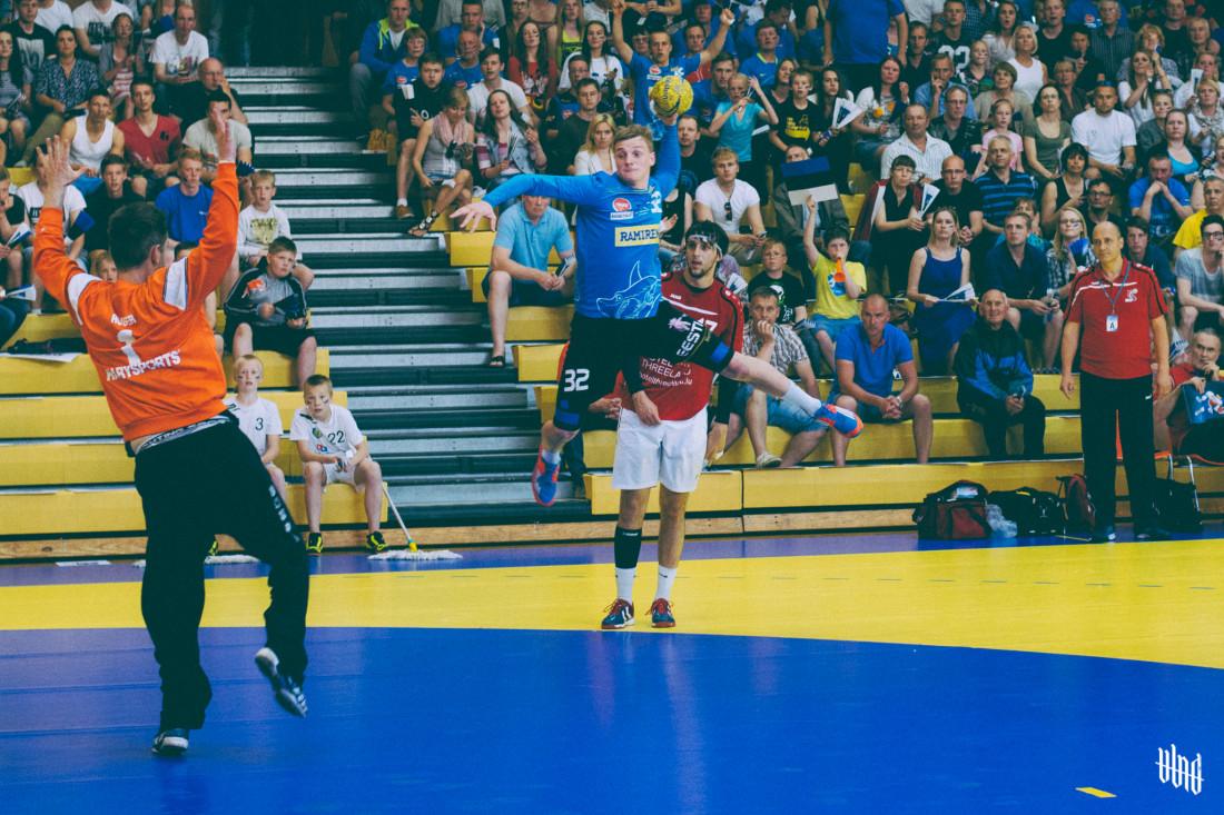 Eesti - Luksemburg käsipallilahing